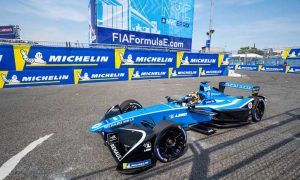Renault e.Dams; Sebastien Buemi in the New York City ePrix