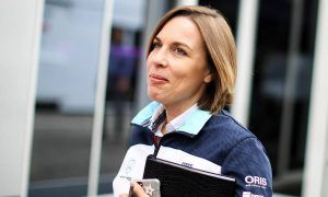 Sir Frank to Claire Williams: 'It's shitty times but keep on pushing!'