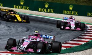 Force India caps milestone 200th race with double-points finish