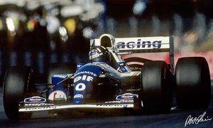 Hill's Silverstone triumph on a black day for Schumacher