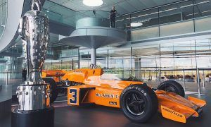 It's come home: McLaren's Indy 500-winner back in Woking!