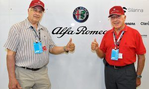 Alfa Romeo celebrates history with help from Fangio's sons