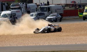 Ericsson puts heavy crash down to false DRS maneuver