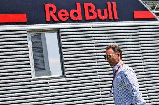 Christian Horner (GBR) Red Bull Racing Team Principal. 05.07.2018. Formula 1 World Championship, Rd 10, British Grand Prix, Silverstone, England, Preparation Day. - www.xpbimages.com, EMail: requests@xpbimages.com - copy of publication required for printed pictures. Every used picture is fee-liable. © Copyright: Moy / XPB Images