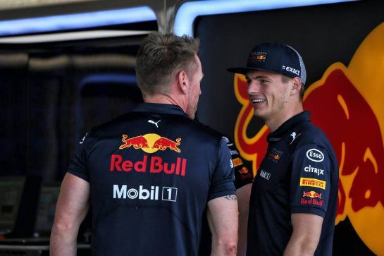Max Verstappen (NLD) Red Bull Racing. 05.07.2018. Formula 1 World Championship, Rd 10, British Grand Prix, Silverstone, England, Preparation Day. - www.xpbimages.com, EMail: requests@xpbimages.com - copy of publication required for printed pictures. Every used picture is fee-liable. © Copyright: Photo4 / XPB Images