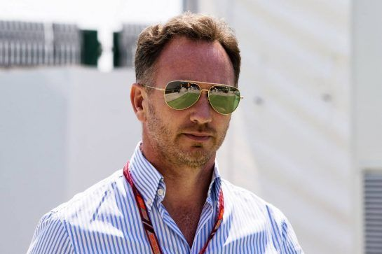 Christian Horner (GBR) Red Bull Racing Team Principal. 05.07.2018. Formula 1 World Championship, Rd 10, British Grand Prix, Silverstone, England, Preparation Day.  - www.xpbimages.com, EMail: requests@xpbimages.com - copy of publication required for printed pictures. Every used picture is fee-liable. © Copyright: Rew / XPB Images