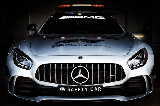 FIA Safety Car. 05.07.2018. Formula 1 World Championship, Rd 10, British Grand Prix, Silverstone, England, Preparation Day.  - www.xpbimages.com, EMail: requests@xpbimages.com - copy of publication required for printed pictures. Every used picture is fee-liable. © Copyright: Rew / XPB Images