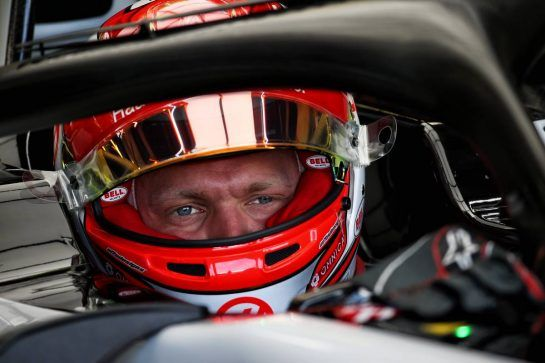 Kevin Magnussen (DEN) Haas VF-18. 06.07.2018. Formula 1 World Championship, Rd 10, British Grand Prix, Silverstone, England, Practice Day. - www.xpbimages.com, EMail: requests@xpbimages.com - copy of publication required for printed pictures. Every used picture is fee-liable. © Copyright: Batchelor / XPB Images