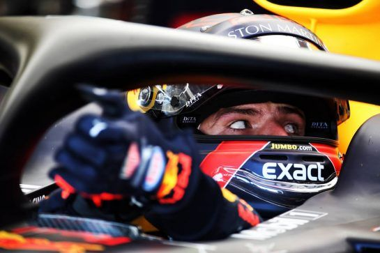 Max Verstappen (NLD) Red Bull Racing RB14. 06.07.2018. Formula 1 World Championship, Rd 10, British Grand Prix, Silverstone, England, Practice Day. - www.xpbimages.com, EMail: requests@xpbimages.com - copy of publication required for printed pictures. Every used picture is fee-liable. © Copyright: Batchelor / XPB Images