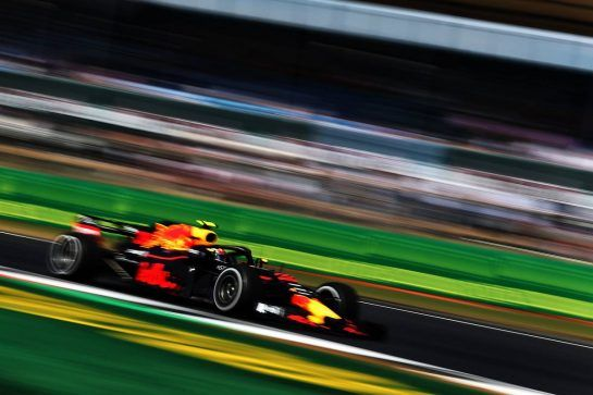Max Verstappen (NLD) Red Bull Racing RB14. 06.07.2018. Formula 1 World Championship, Rd 10, British Grand Prix, Silverstone, England, Practice Day. - www.xpbimages.com, EMail: requests@xpbimages.com - copy of publication required for printed pictures. Every used picture is fee-liable. © Copyright: Moy / XPB Images