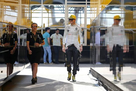 Nico Hulkenberg (GER) Renault Sport F1 Team 06.07.2018. Formula 1 World Championship, Rd 10, British Grand Prix, Silverstone, England, Practice Day.- www.xpbimages.com, EMail: requests@xpbimages.com - copy of publication required for printed pictures. Every used picture is fee-liable. © Copyright: Charniaux / XPB Images