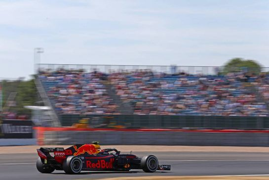 Max Verstappen (NLD) Red Bull Racing 06.07.2018. Formula 1 World Championship, Rd 10, British Grand Prix, Silverstone, England, Practice Day.- www.xpbimages.com, EMail: requests@xpbimages.com - copy of publication required for printed pictures. Every used picture is fee-liable. © Copyright: Charniaux / XPB Images
