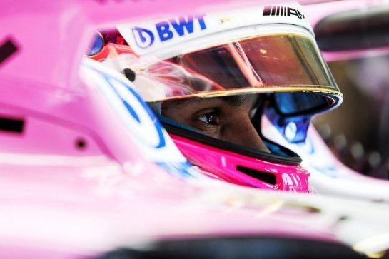 Esteban Ocon (FRA) Sahara Force India F1 VJM11. 06.07.2018. Formula 1 World Championship, Rd 10, British Grand Prix, Silverstone, England, Practice Day. - www.xpbimages.com, EMail: requests@xpbimages.com - copy of publication required for printed pictures. Every used picture is fee-liable. © Copyright: Moy / XPB Images