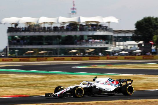 Sergey Sirotkin (RUS) Williams FW41. 06.07.2018. Formula 1 World Championship, Rd 10, British Grand Prix, Silverstone, England, Practice Day. - www.xpbimages.com, EMail: requests@xpbimages.com - copy of publication required for printed pictures. Every used picture is fee-liable. © Copyright: Photo4 / XPB Images