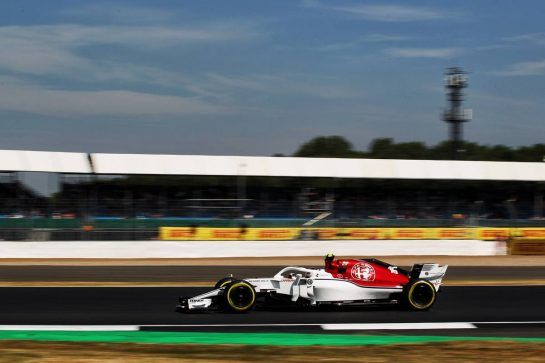 Charles Leclerc (MON) Sauber F1 Team C37. 06.07.2018. Formula 1 World Championship, Rd 10, British Grand Prix, Silverstone, England, Practice Day. - www.xpbimages.com, EMail: requests@xpbimages.com - copy of publication required for printed pictures. Every used picture is fee-liable. © Copyright: Photo4 / XPB Images