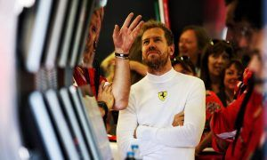 Vettel out to prove a point with fastest Friday lap