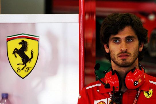 Antonio Giovinazzi (ITA) Ferrari Development Driver. 06.07.2018. Formula 1 World Championship, Rd 10, British Grand Prix, Silverstone, England, Practice Day. - www.xpbimages.com, EMail: requests@xpbimages.com - copy of publication required for printed pictures. Every used picture is fee-liable. © Copyright: Photo4 / XPB Images