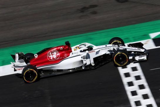 Marcus Ericsson (SWE) Sauber C37. 07.07.2018. Formula 1 World Championship, Rd 10, British Grand Prix, Silverstone, England, Qualifying Day. - www.xpbimages.com, EMail: requests@xpbimages.com - copy of publication required for printed pictures. Every used picture is fee-liable. © Copyright: Moy / XPB Images