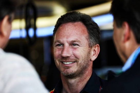 Christian Horner (GBR) Red Bull Racing Team Principal. 07.07.2018. Formula 1 World Championship, Rd 10, British Grand Prix, Silverstone, England, Qualifying Day. - www.xpbimages.com, EMail: requests@xpbimages.com - copy of publication required for printed pictures. Every used picture is fee-liable. © Copyright: Batchelor / XPB Images