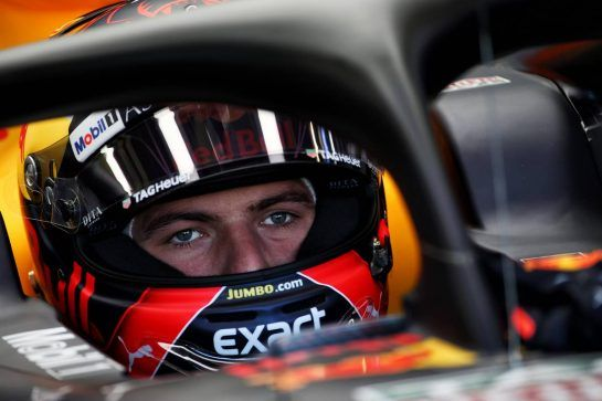 Max Verstappen (NLD) Red Bull Racing RB14. 07.07.2018. Formula 1 World Championship, Rd 10, British Grand Prix, Silverstone, England, Qualifying Day. - www.xpbimages.com, EMail: requests@xpbimages.com - copy of publication required for printed pictures. Every used picture is fee-liable. © Copyright: Batchelor / XPB Images
