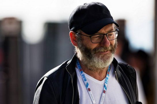 Liam Cunningham (IRE) Actor. 07.07.2018. Formula 1 World Championship, Rd 10, British Grand Prix, Silverstone, England, Qualifying Day.  - www.xpbimages.com, EMail: requests@xpbimages.com - copy of publication required for printed pictures. Every used picture is fee-liable. © Copyright: Rew / XPB Images