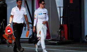 Stoffel Vandoorne (BEL) McLaren. 07.07.2018.