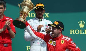 Vettel delighted to beat Hamilton on home ground
