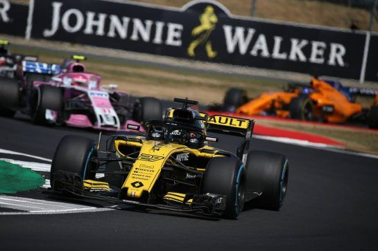 Nico Hulkenberg (GER) Renault Sport F1 Team RS18.08.07.2018. Formula 1 World Championship, Rd 10, British Grand Prix, Silverstone, England, Race Day.- www.xpbimages.com, EMail: requests@xpbimages.com - copy of publication required for printed pictures. Every used picture is fee-liable. © Copyright: Batchelor / XPB Images