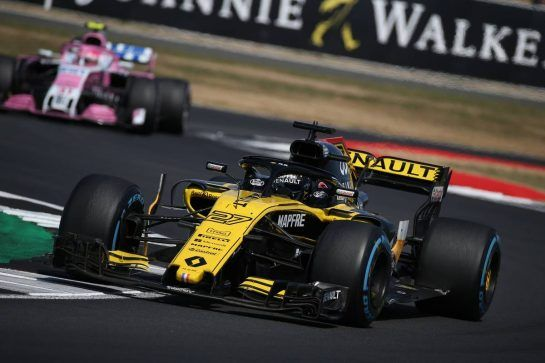Carlos Sainz Jr (ESP) Renault Sport F1 Team RS18.08.07.2018. Formula 1 World Championship, Rd 10, British Grand Prix, Silverstone, England, Race Day.- www.xpbimages.com, EMail: requests@xpbimages.com - copy of publication required for printed pictures. Every used picture is fee-liable. © Copyright: Batchelor / XPB Images