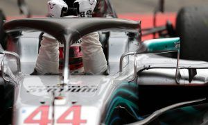 Hamilton called to stewards over aborted pit lane move