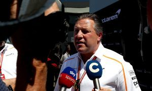 Brown reduces expectations, sees McLaren success 'years away'