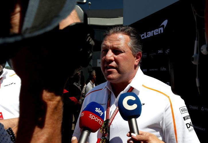 Brown: McLaren success could be years away