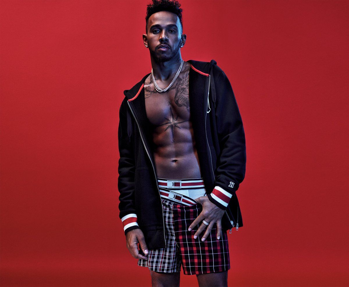 lewis hamilton puts his own twist on tommy 39 s fashion. Black Bedroom Furniture Sets. Home Design Ideas