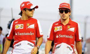 Alonso as talented as Schumacher, but a divisive figure - Massa