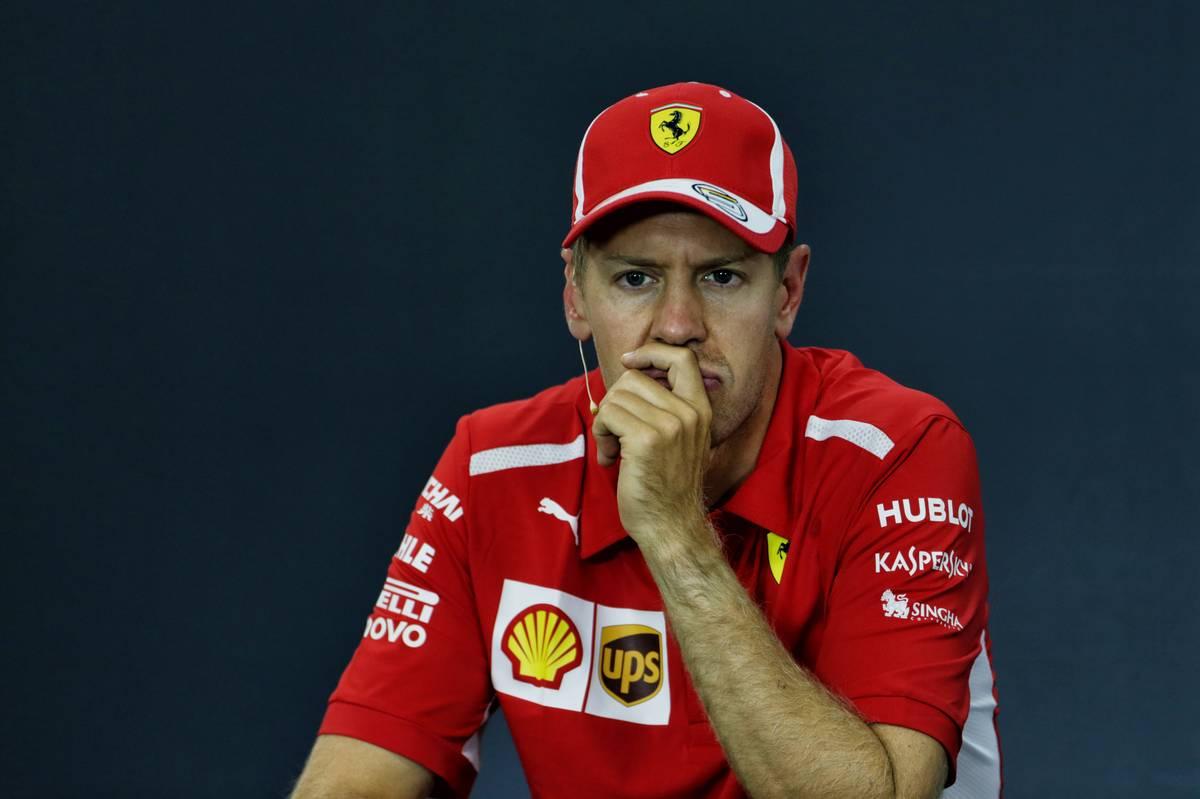 Vettel drove past me like I wasn't there - Hamilton