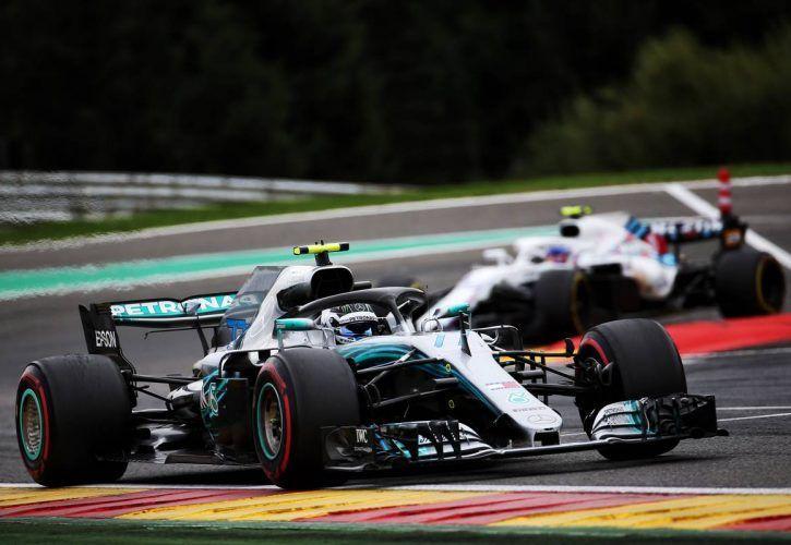 Sebstian Vettel tops opening practice in Belgium