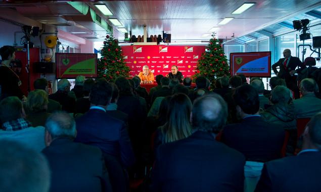 Ferrari's Christmas press conference