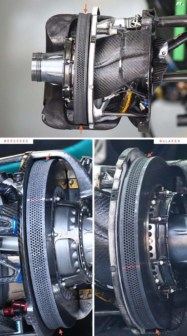 Mclaren MCL32 Brakes