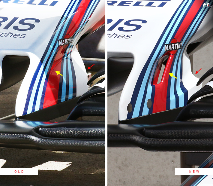 Williams FW40 Front Wing