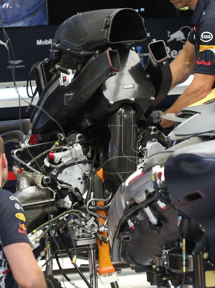 Red Bull F1 RB13 Engine