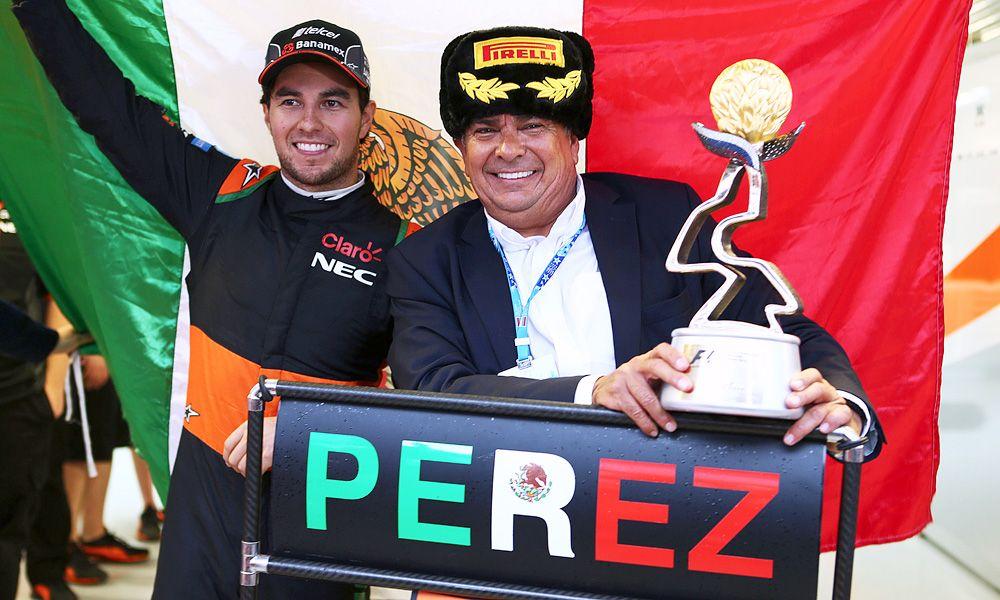 Sergio Perez, Force India, 2015 Russian Grand Prix