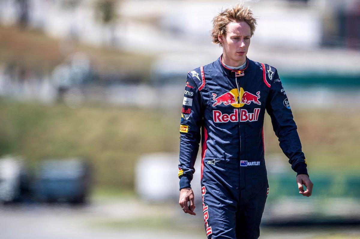 Brendon Hartley, Scuderia Toro Rosso.
