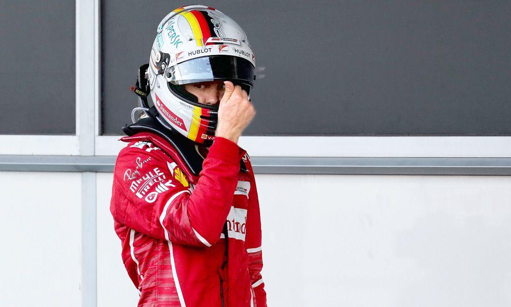 Sebastian Vettel, Ferrari, Azerbaijan Grand Prix