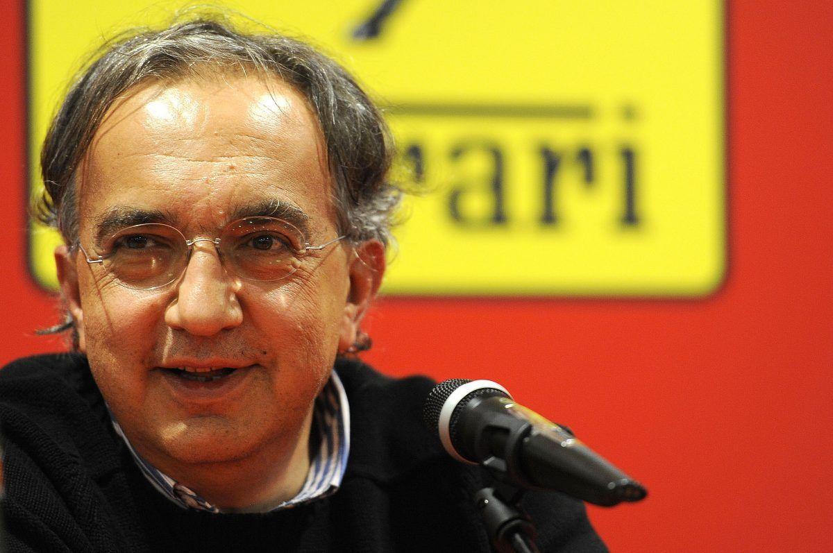Sergio Marchionne (ITA) Fiat CEO. Ferrari press conference.