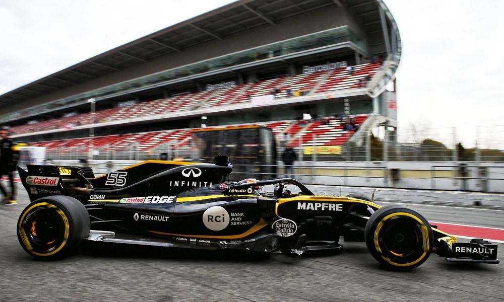 Carlos Sainz Jr (ESP) Renault Sport F1 Team RS18