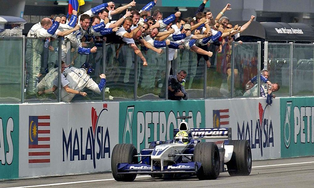 2002 Sepang, Malaysia, Ralf Schumacher (BMW WilliamsF1 Team)