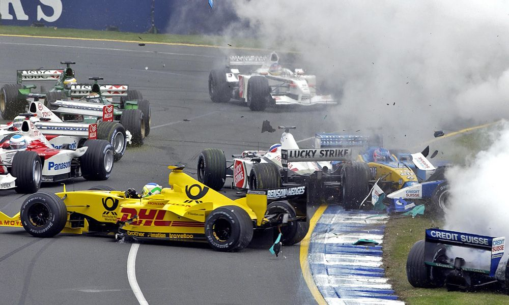 Start of the 2002 Australian Grand Prix
