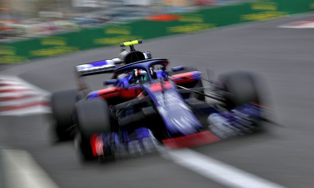 Pierre Gasly (FRA) Scuderia Toro Rosso