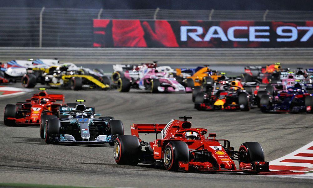 2018 Bahrain Grand Prix - start