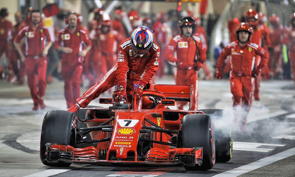 Bahrain Grand Prix - Kimi Raikkonen (FIN) Ferrari SF71H retired